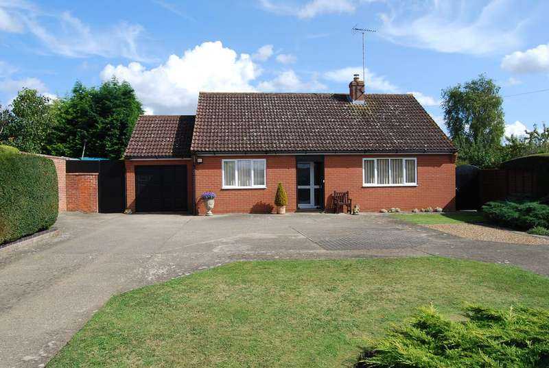 2 Bedrooms Detached Bungalow for sale in Malthouse Lane, Guist NR20