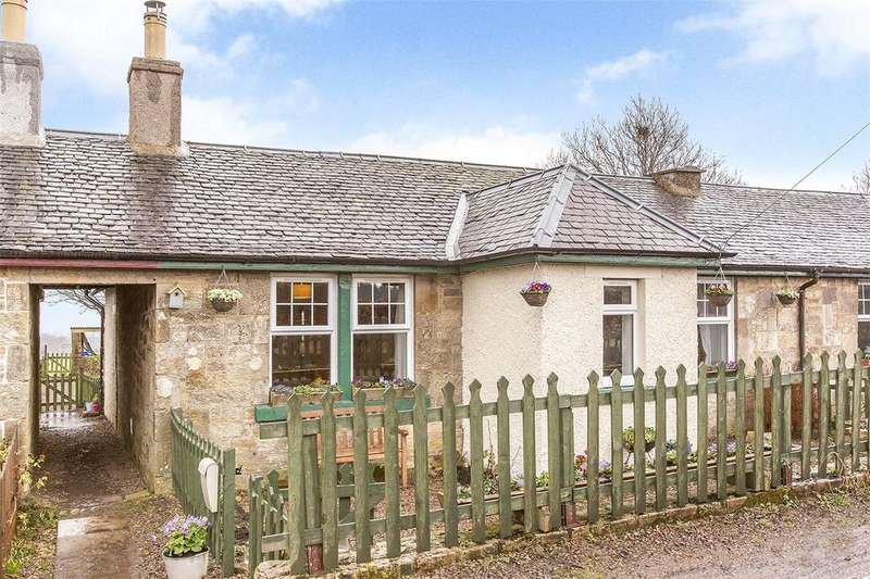 2 Bedrooms Terraced House for sale in 2 Shewington Cottages, Rosewell, Midlothian, EH24