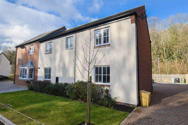 2 Bedrooms Apartment Flat for sale in Garden Apartment With Garage, Bath Vale, Congleton