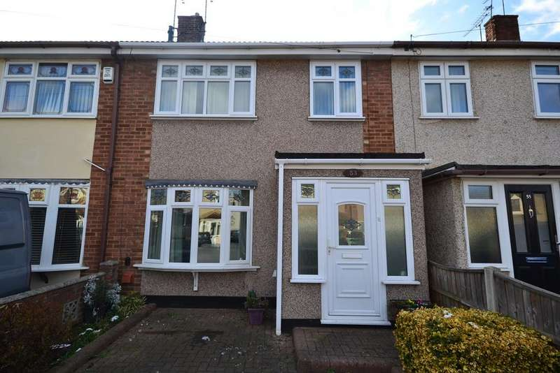 3 Bedrooms Terraced House for sale in Kingsman Road, Stanford-le-Hope, SS17