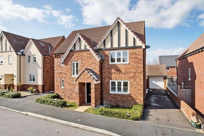 4 Bedrooms Property for sale in Barberry Drive, Wilstock Village, Bridgwater