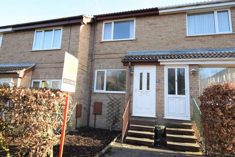 2 Bedrooms Terraced House for sale in The Spinney, Scarborough, North Yorkshire YO12 5HQ