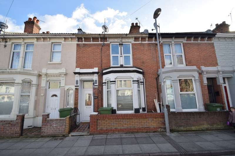 3 Bedrooms Terraced House for rent in Powerscourt Road, Portsmouth, PO2