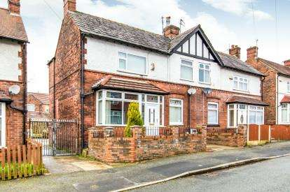 4 Bedrooms Semi Detached House for sale in Holly Avenue, Worsley, Manchester, Greater Manchester