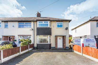3 Bedrooms End Of Terrace House for sale in Marshall Avenue, Warrington, Cheshire