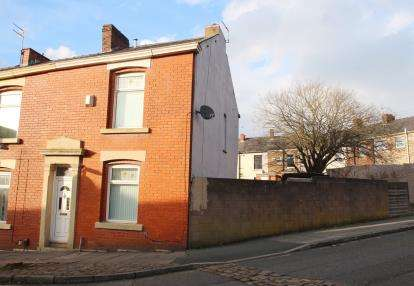 3 Bedrooms End Of Terrace House for sale in Longshaw Street, Blackburn, Lancashire, ., BB2