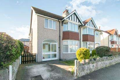 4 Bedrooms Semi Detached House for sale in Berthes Road, Old Colwyn, Colwyn Bay, Conwy, LL29