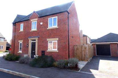 3 Bedrooms Semi Detached House for sale in Turnpike Gardens, Bedford, Bedfordshire
