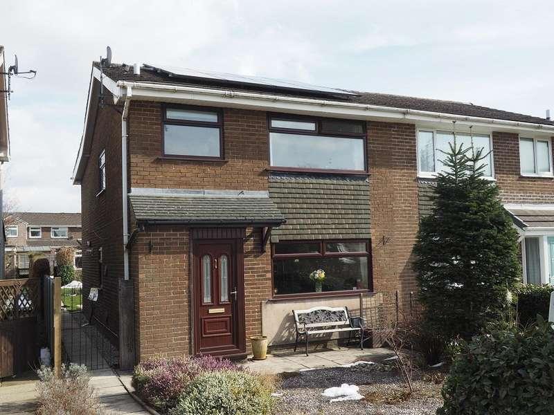 3 Bedrooms Semi Detached House for sale in Long Lane, Chapel-en-le-Frith, High Peak, Derbyshire, SK23 0TA