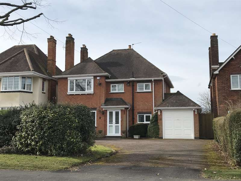 3 Bedrooms Detached House for sale in Widney Manor Road, Solihull, West Midlands, B91 3JQ