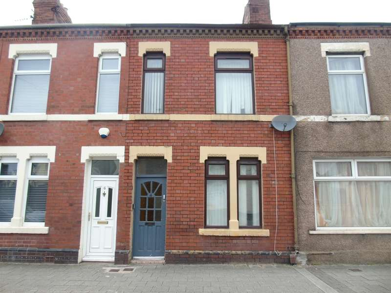 2 Bedrooms Terraced House for sale in Cornwall Street, Grangetown, Cardiff