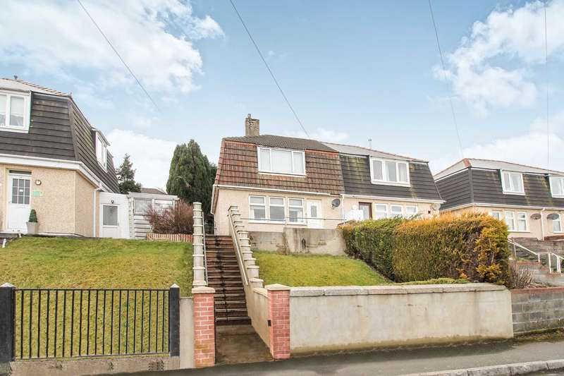 2 Bedrooms Semi Detached House for sale in Cripps Avenue, Cefn Golau, Tredegar, NP22