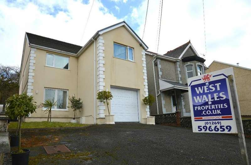 4 Bedrooms Detached House for sale in Heol Y Gors, Cwmgors, Ammanford