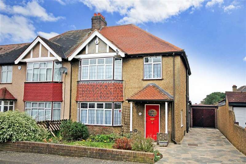 3 Bedrooms Semi Detached House for sale in Monksdene Gardens, Sutton, Surrey