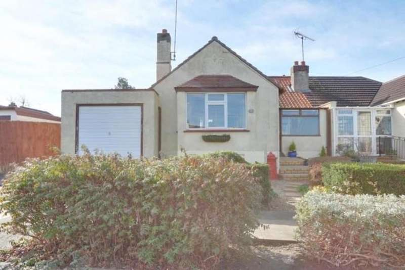 2 Bedrooms Semi Detached Bungalow for sale in Adalia Crescent, Leigh-on-Sea