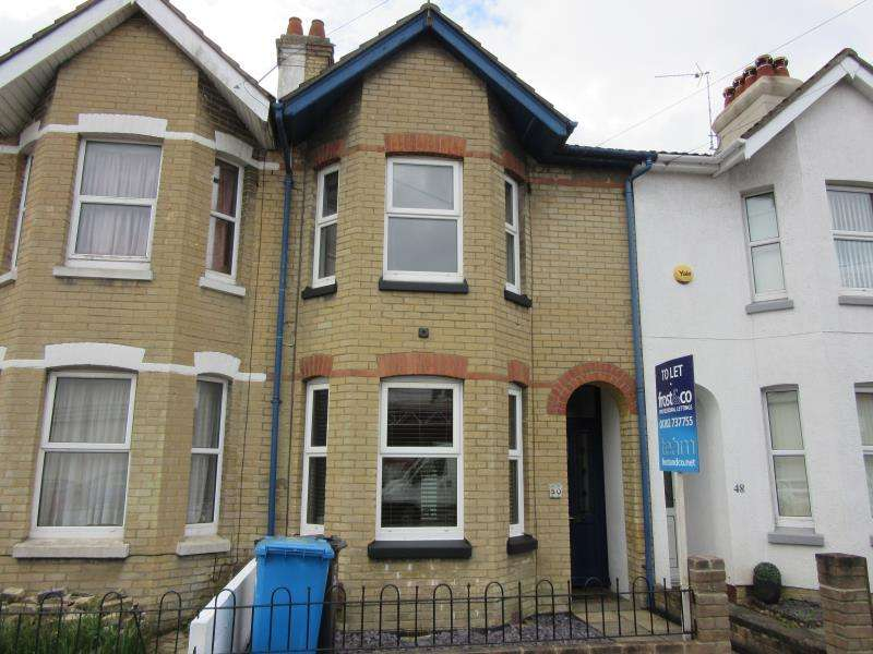 2 Bedrooms Terraced House for rent in Florence Road, Lower Parkstone