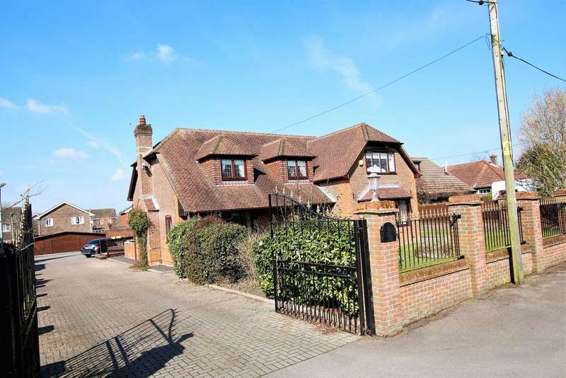 4 Bedrooms Detached House for sale in Botley Road, Horton Heath, Eastleigh