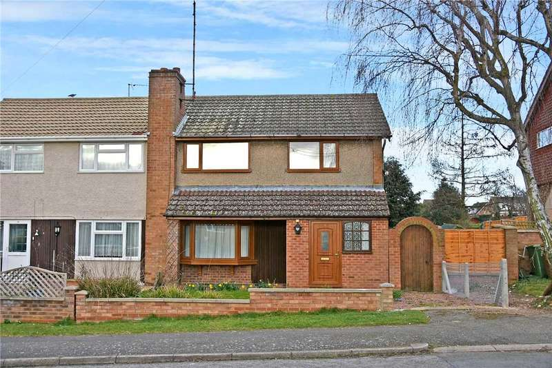 3 Bedrooms Semi Detached House for sale in Cedar Way, Wellingborough, NN8 4SL