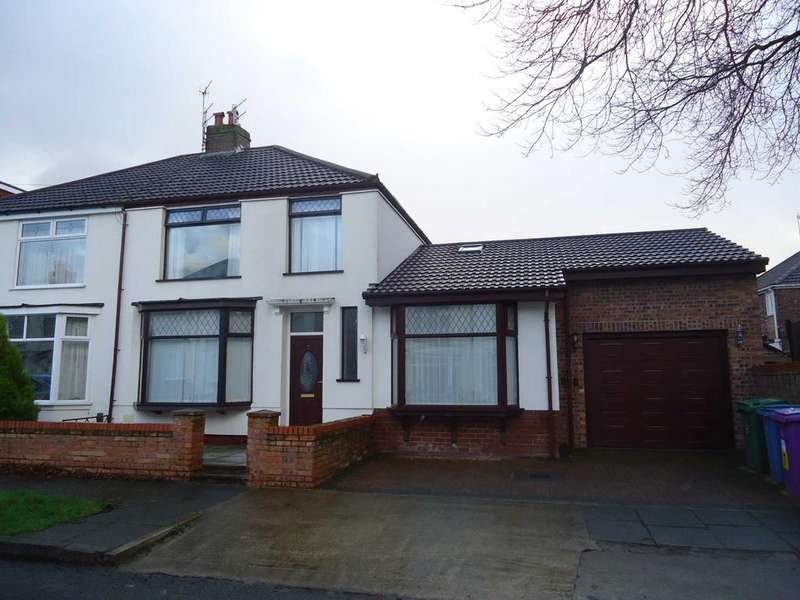 3 Bedrooms Semi Detached House for rent in Langford Road, Liverpool