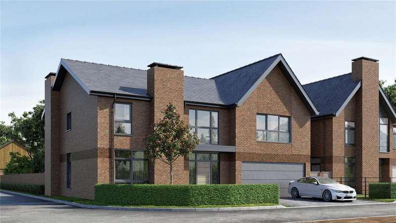 5 Bedrooms Detached House for sale in Thompson At Upper Longcross, Chobham Lane, KT16