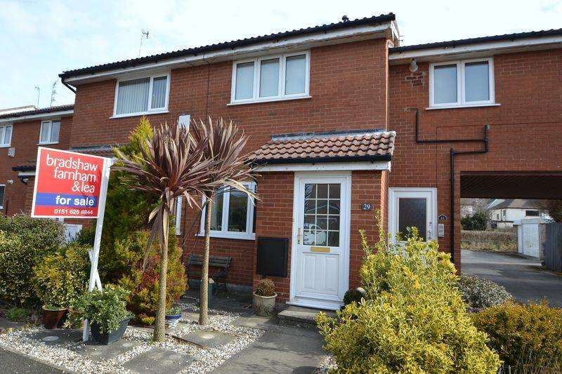 2 Bedrooms Terraced House for sale in Kale Close, West Kirby