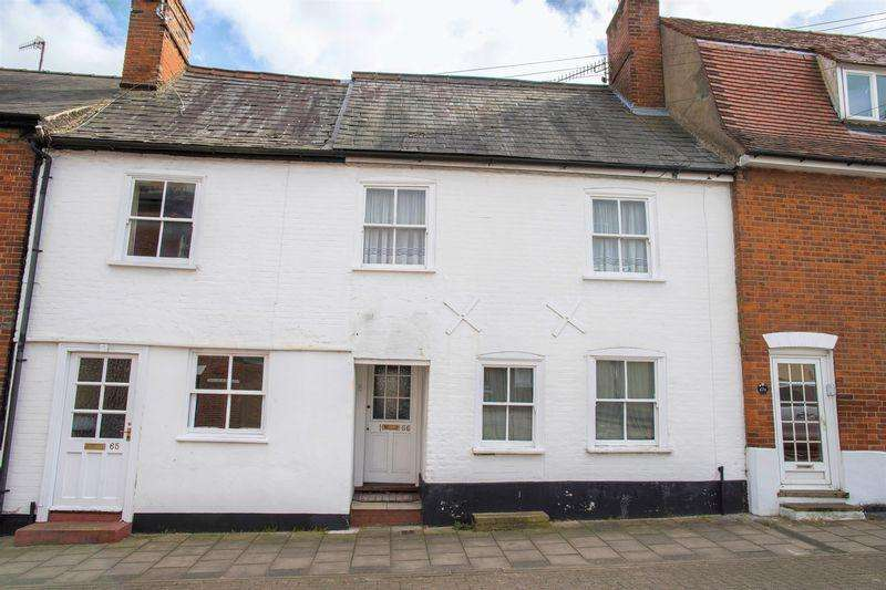 3 Bedrooms Terraced House for sale in Long Brackland, Bury St. Edmunds