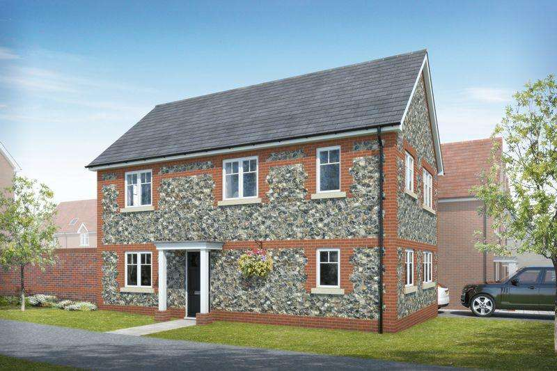 3 Bedrooms Detached House for sale in Beacon Woods, off Cants Lane Burgess Hill, West Sussex
