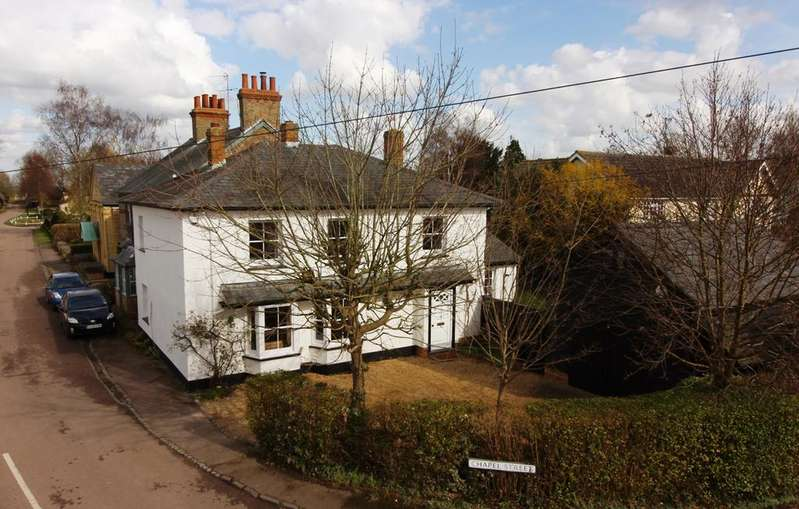 4 Bedrooms Detached House for sale in Chapel Street, Hinxworth, SG7