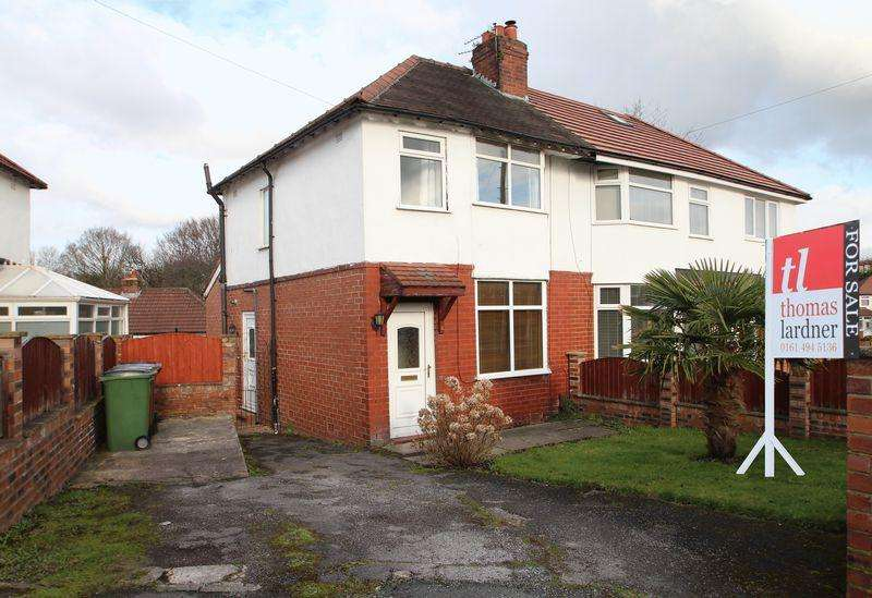 3 Bedrooms Semi Detached House for sale in The Avenue, Bredbury