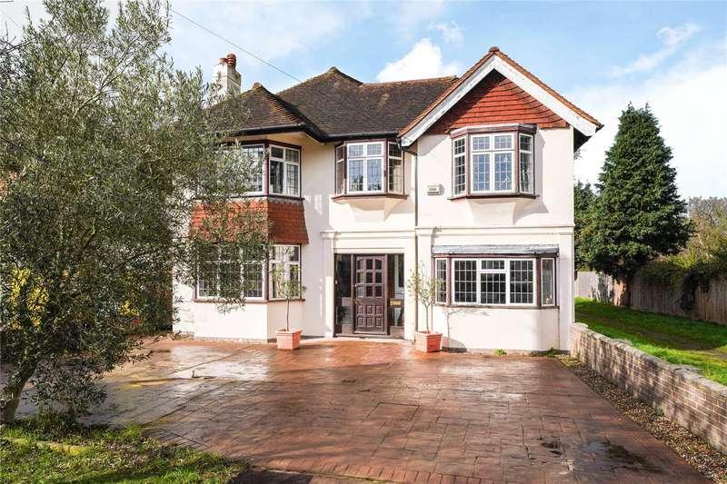 4 Bedrooms Detached House for sale in Grove Way, Esher, Surrey, KT10