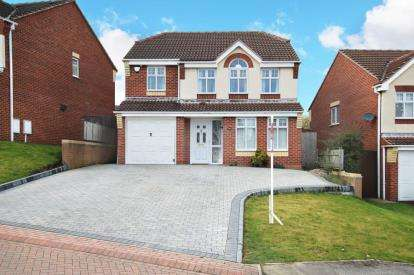 4 Bedrooms Detached House for sale in Haugh Green, Rawmarsh, Rotherham, South Yorkshire