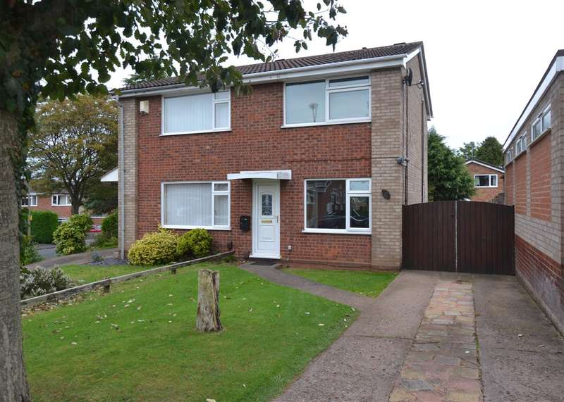 2 Bedrooms Semi Detached House for sale in Clarendon Drive, Western Downs, Stafford
