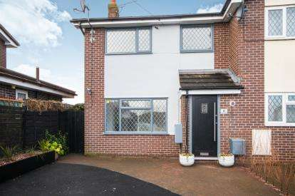 3 Bedrooms Semi Detached House for sale in Grenville Close, Haslington, Cheshire