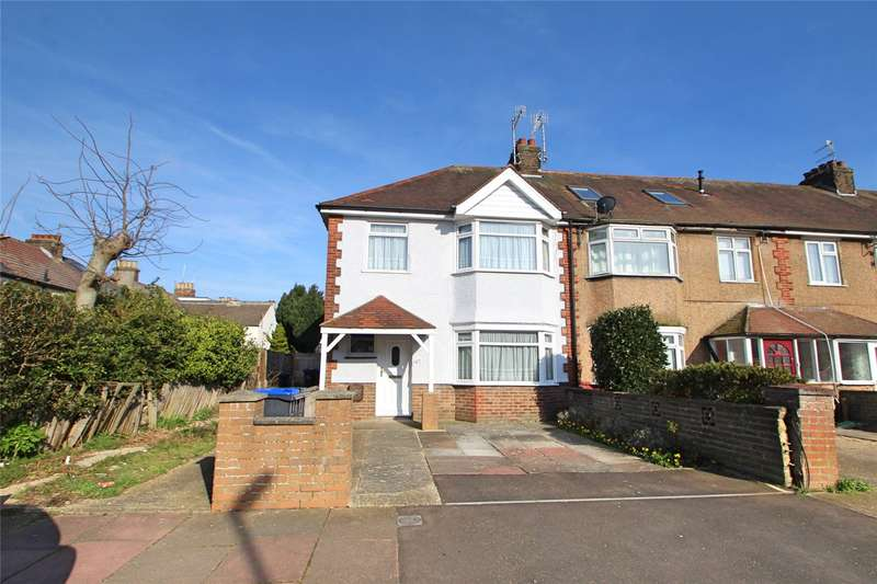 3 Bedrooms End Of Terrace House for sale in Brittany Road, Worthing, West Sussex, BN14