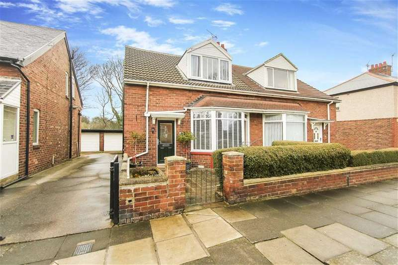 2 Bedrooms Semi Detached House for sale in Queen Alexandra Road West, North Shields, Tyne And Wear