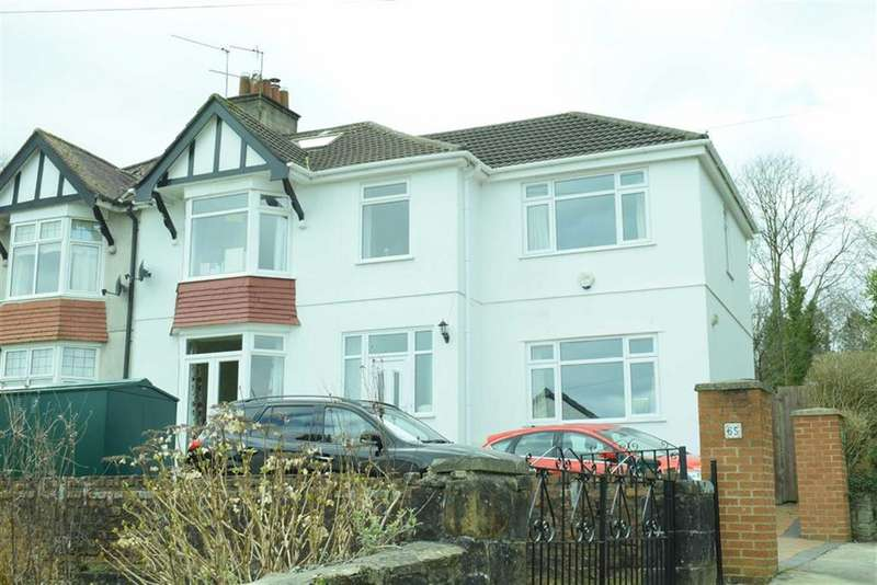 4 Bedrooms Semi Detached House for sale in Ashleigh Road, Sketty