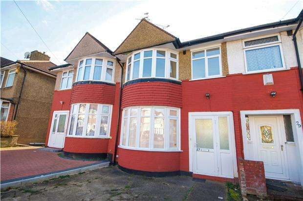 3 Bedrooms Terraced House for sale in Eton Grove, KINGSBURY, NW9 9LE