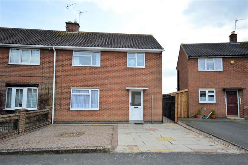 3 Bedrooms Semi Detached House for sale in Lansdowne Grove, Wigston, LE18 4LY