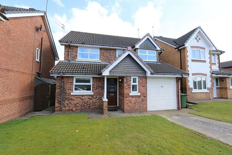 4 Bedrooms Detached House for sale in Church Meadow, Bury, Greater Manchester, BL9 8JF