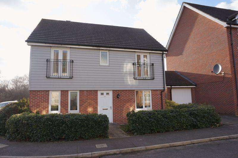 4 Bedrooms Detached House for sale in Bahram Road, Costessey, Norwich