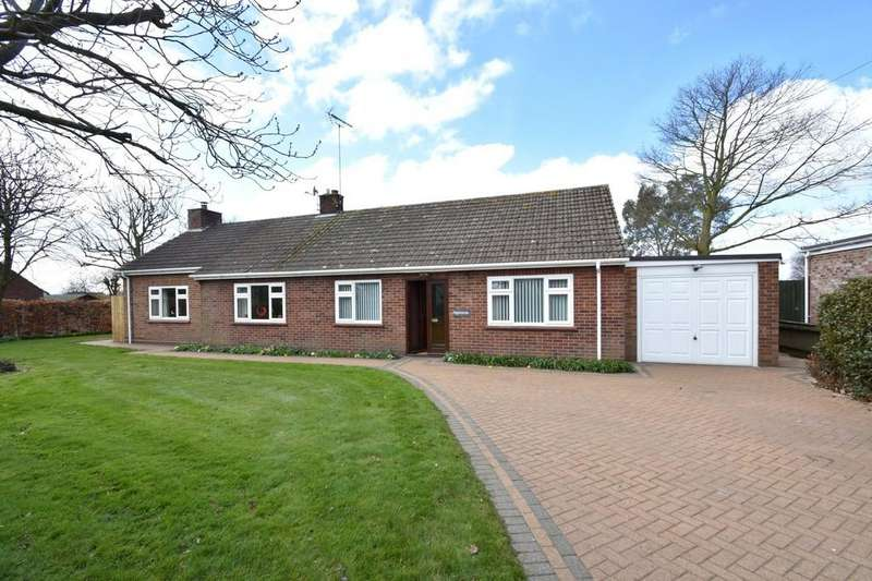 4 Bedrooms Detached Bungalow for sale in Ipswich Road, Harkstead, IP9 1BJ