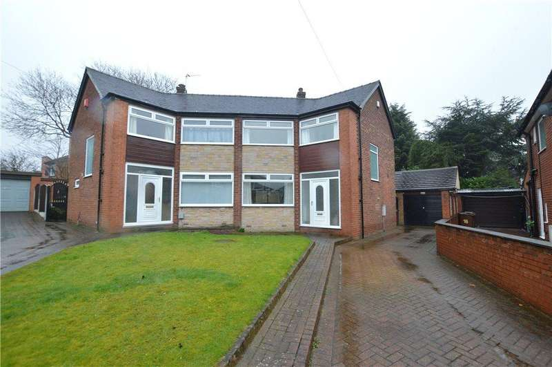 4 Bedrooms Semi Detached House for sale in Brunswick Gardens, Garforth, Leeds, West Yorkshire
