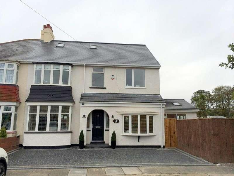 5 Bedrooms Semi Detached House for sale in Westbrooke Grove, Brooke Estate, Hartlepool