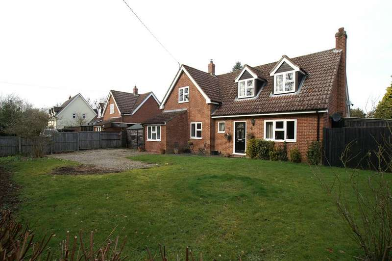 3 Bedrooms Detached House for sale in The Street, Preston St Mary, Sudbury CO10
