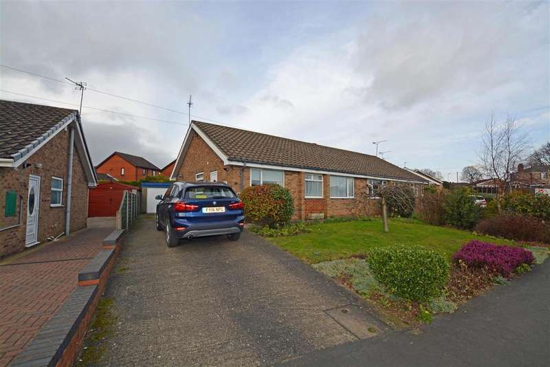 3 Bedrooms Semi Detached Bungalow for sale in Lincoln Drive, Winterton, Scunthorpe
