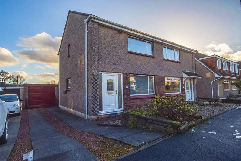 2 Bedrooms Semi Detached House for sale in Alloway Crescent, Bonnybridge, Falkirk FK4