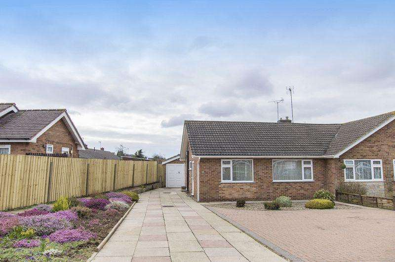 2 Bedrooms Semi Detached Bungalow for sale in HILTON CLOSE, MICKLEOVER