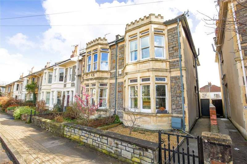 3 Bedrooms Semi Detached House for sale in Howard Road, Westbury Park, Bristol, BS6