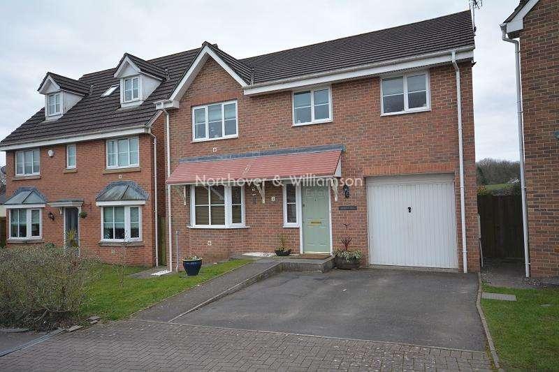4 Bedrooms Detached House for sale in Wentloog Rise, Castleton, Cardiff. CF3