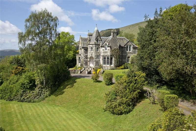 6 Bedrooms Unique Property for sale in Kirna House, Walkerburn, Peeblesshire, EH43